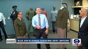 Blue Ash company redesigns Army uniforms for a sleek throwback to WWII [Video]