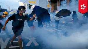 Tear gas, rubber bullets fired during Hong Kong demonstrations [Video]