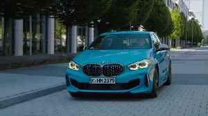 BMW M135i xDrive Driving in the city [Video]