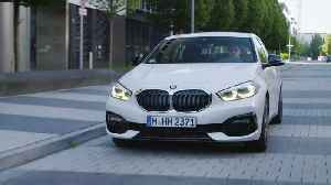 BMW 1 Series Driving in the city [Video]