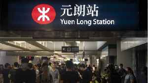 Hong Kong protesters cause commuter chaos disrupting train service [Video]