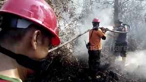 Indonesia battles forest fires to prevent return of SE Asia 'haze' crisis [Video]