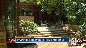 KCMO home designed by Frank Lloyd Wright going to auction in August [Video]