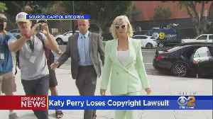 Jury Finds Katy Perry's 'Dark Horse' Copied Christian Rap Song [Video]