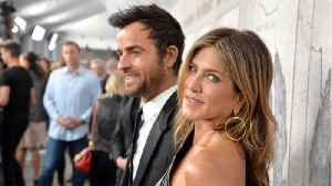 Jennifer Aniston & Justin Theroux Reunited To Say Farewell To Their Dog [Video]