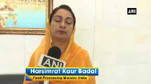 Harsimrat Badal shows her satisfaction over Pak's decision of removing Gopal Singh Chawla from PSGPC [Video]