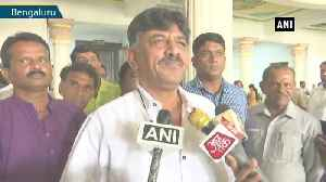 Without simple majority how governor can invite Yediyurappa to be CM says DK Shivakumar [Video]