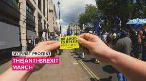 My First Protest: The U.K.'s March for Change goes after Brexit [Video]