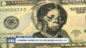Stamping parties give $20 bills a face lift [Video]