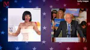 Rapper Cardi B and Bernie Sanders Come Together For Campaign Video [Video]