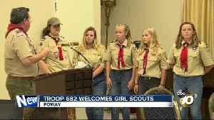 Poway Boy Scouts troop welcomes girls into group [Video]