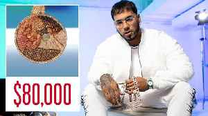 Anuel AA Shows Off His Insane Jewelry Collection [Video]