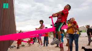 News video: See-Saws On The US-Mexico Border