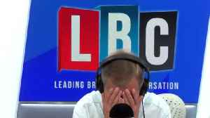 Nigel Farage Cuts of Caller Who Said Labour Anti-Semitism Was 'Fiction' [Video]