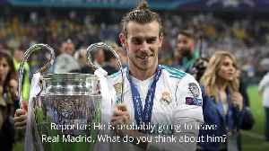 Gareth Bale: Zidane and Pochettino evasive over winger's future [Video]