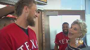 Some Texas Rangers Go To 'Work' For Southwest Airlines For Part Of The Day [Video]