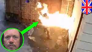 White-supremacist sets fireto 1763 synagogue... and himself [Video]
