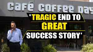 India Inc. reacts to CCD founder VG Siddhartha's alleged suicide [Video]