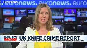 UK government response knife crime wave 'completely inadequate' [Video]