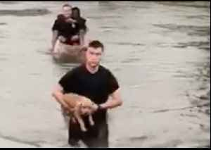 People and Pets Rescued From Flooding in Alexandria, Louisiana [Video]