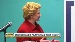 Stabenow backs Trump impeachment inquiry [Video]