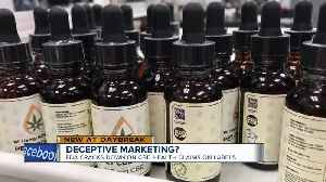 FDA warning about  false claims of some CBD products [Video]