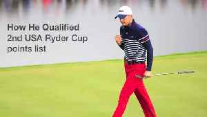 Jordan Spieth Ryder Cup Player Bio [Video]