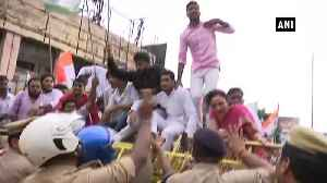 Unnao rape case survivor accident Congress workers stage protest against BJP govt in Lucknow [Video]