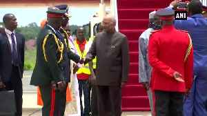 President Ram Nath Kovind arrives in West Africa's Gambia [Video]