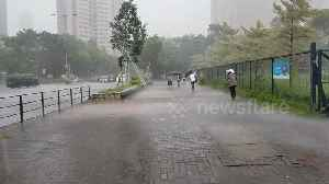 Hong Kong braces for Tropical Cyclone Wipha [Video]