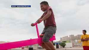 Bay Area Architects Show Humanity Of U.S.-Mexico Border With See-Saw Playground [Video]