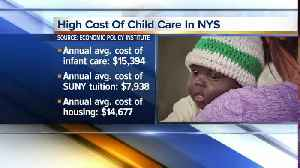 News video: New legislation allows candidates to use campaign funds for child care expenses
