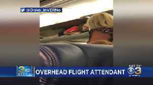 Passengers On Southwest Airlines Flight To Philadelphia Perplexed After Finding Attendant In Overhead Compartment [Video]