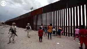 WEB EXTRA: US Mexico Border Seesaw [Video]