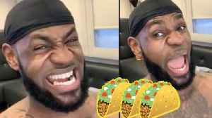 Lebron James Gets BLASTED For Being 'RACIST' After His Weekly Taco Tuesday Post [Video]