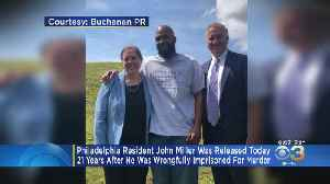 Philadelphia Man Freed After Being Wrongfully Imprisoned For 21 Years [Video]