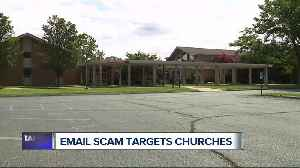 Email scam targets Methodist church in Waterford Township [Video]