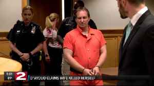 davolio claims wife killed herself [Video]
