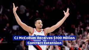 CJ McCollum Is Handed A Very Nice New Contract [Video]