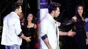 SHOCKING   Shraddha Kapoor REFUSES To Pose With Varun Dhawan   Street Dancer 3D Party [Video]