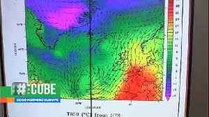 Greenland ice sheet 'rapidly melting' as Europe heatwave moves north [Video]