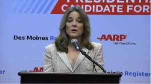 Where Does Marianne Williamson Stand On Anti-Vaxxers? [Video]