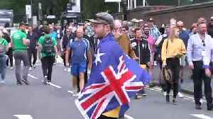 Cricket fans arrive at Edgbaston on day one of The Ashes [Video]