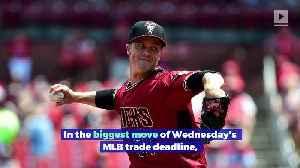 Zack Greinke Traded to Astros [Video]