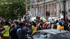 Hundreds march for slavery reparations in London [Video]
