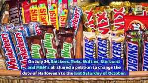 Snickers Wants to Change the Date of Halloween [Video]