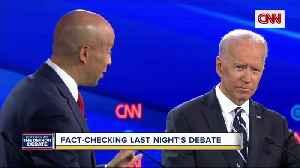 Fact-checking Wednesday night's debate [Video]