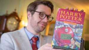 Rare Harry Potter Book Bought For £1 Is Sold For £34k [Video]