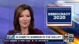 Elizabeth Warren to hold town hall in Tempe [Video]