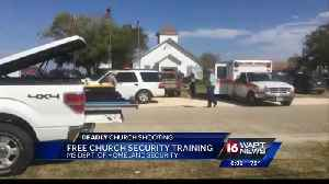 Homeland Security offers free training for churches [Video]